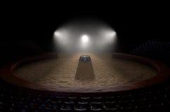 Cirkus Ring And Podium Royaltyfri Foto