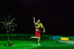 Cirkusartister Arkivfoto
