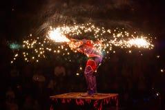 Cirkusartister Royaltyfri Fotografi