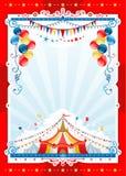 Cirkusbakgrund Arkivfoton