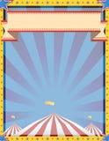 Cirkusbakgrundslodlinje Arkivfoton