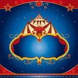 cirkusbroschyrmagi Royaltyfri Fotografi