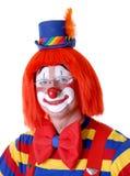 cirkusclown Fotografering för Bildbyråer