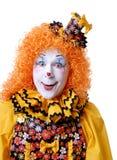 cirkusclown Royaltyfria Foton