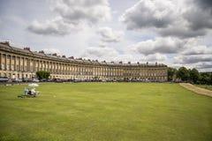 Cirkusen, berömd rund kunglig växande byggnad i bad Royaltyfria Foton