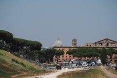 Cirkusen Maximus i Rome, Italien fotografering för bildbyråer