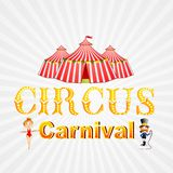 Cirkuskarneval Arkivfoton