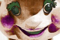 cirkusstötta stock illustrationer