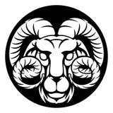 Ram Aries Zodiac Horoscope Sign Royalty Free Stock Photos