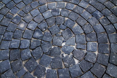 cirle模式石头 库存图片