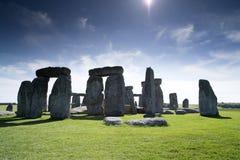Cirle de pedra antigo de Stonehenge Foto de Stock