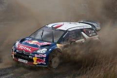Ciroen WRC勒布 免版税库存照片
