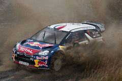 Ciroen WRC Loeb Royalty Free Stock Photos