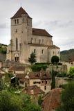 cirq de法国lapopie st 免版税图库摄影