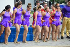 Cirque au festival de bleus de maïs doux Photo libre de droits