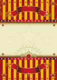 Cirque de fond Photos stock