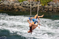 Cirque De La Mer Show, SeaWorld, San Diego, California Stock Photography