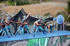Cirque De La Mer Show, SeaWorld, San Diego, California Stock Image