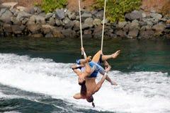 Cirque De La Mer Show, SeaWorld, San Diego, California Stock Photo