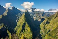 Cirque de Mafate in La Reunion island Stock Image