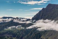 Cirque de Mafate - Reunion Island, Frankrike Royaltyfria Foton