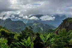 Cirque de Salazie i La Reunion Island royaltyfria foton