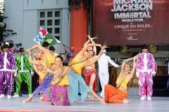 cirque du Jackson Michael soleil zdjęcie royalty free