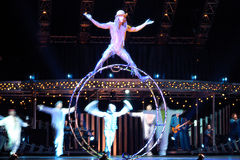 cirque du soleil Стоковая Фотография