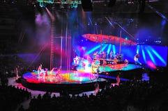 Cirque du Soleil Photo libre de droits