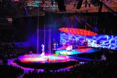 Cirque du Soleil Photographie stock libre de droits