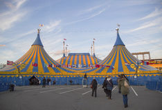 Cirque du Soleil circus tent at Citi Field in New York Royalty Free Stock Photos