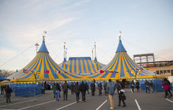 Cirque du Soleil circus tent at Citi Field in New York Royalty Free Stock Images