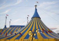Cirque du Soleil -circustent bij Citi-Gebied in New York Royalty-vrije Stock Afbeeldingen