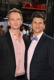 David Burtka,Neil Patrick Harris Stock Images