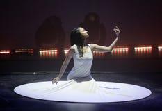 Cirque du Soleil führt durch stockfotografie
