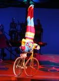 Cirque du Soleil führt durch stockfoto