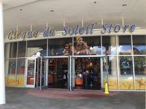 Cirque du Soleil lager, Disney vårar Arkivbilder