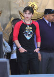 Cirque du Soleil, Michael Jackson, Prince, Prince Michael Jackson. Michael Jackson's son Prince Michael Jackson on Hollywood Boulevard where they placed their royalty free stock images
