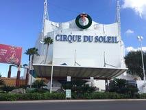 Cirque du Soleil, ressorts de Disney image stock