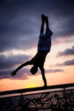 Cirque en mer Photo libre de droits