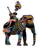 Cirque ethnique Photographie stock
