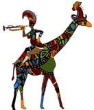 Cirque ethnique Images libres de droits