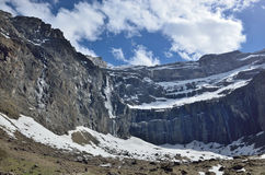 Cirque of Gavarnie in spring Stock Images