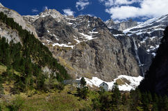 Cirque of Gavarnie in spring Royalty Free Stock Image