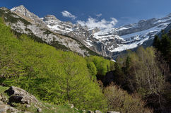 Cirque of Gavarnie in spring Royalty Free Stock Photos