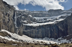 Cirque of Gavarnie in spring Stock Photography