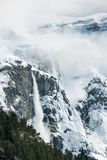 Cirque of Gavarnie. View of some magneficient mountains at the Pyrenees in the 'cirque of Gavarnie Stock Photos