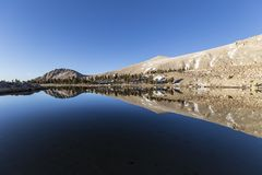 Cirque Lake Reflection Stock Image