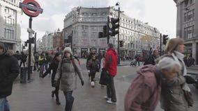 Cirque Londres d'Oxford banque de vidéos