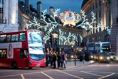 Cirque Londres de Piccadilly Photos stock